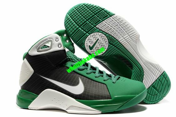Nike Kobe Hyperdunks Olympic Power Green Black White 324820 122