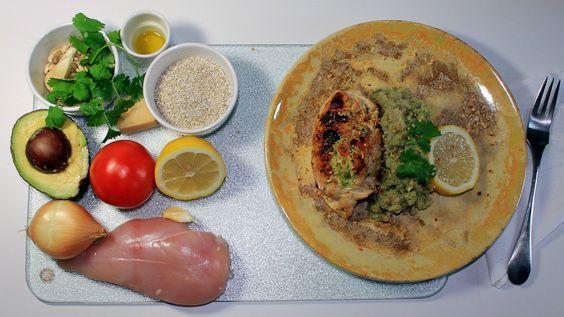 Meksikolaista kanaa ja korianteri-kvinoaa