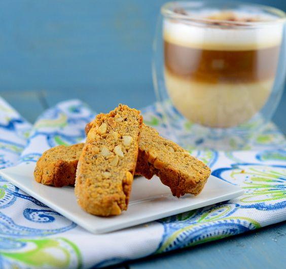 Vegan Lemon & Chia Seed Biscotti