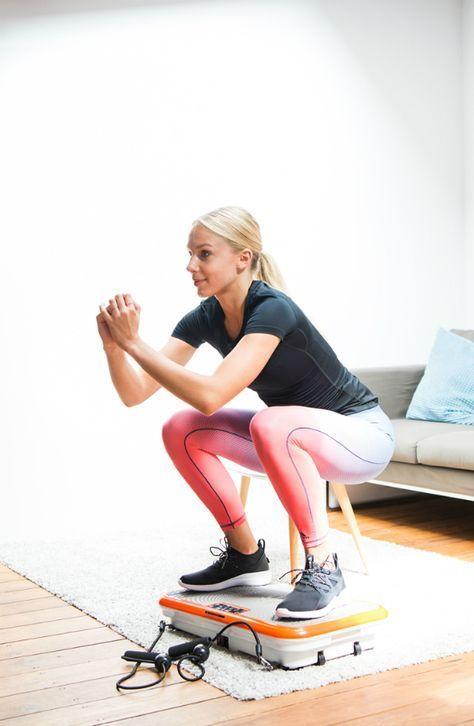Fitnessgeräte-für-Zuhause-Squats-Vibrationsplatte-Homeworkout