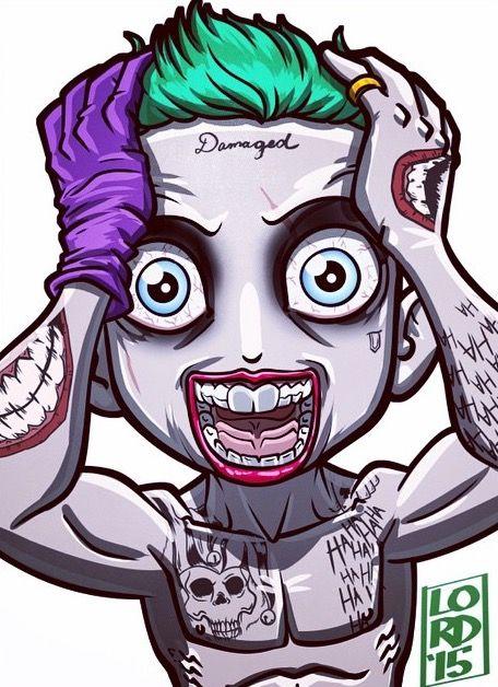 Jared Leto's Joker - Lord Mesa Art
