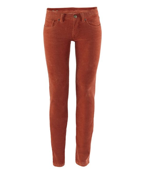 Look at this Copper Super Skinny Cord Pants on #zulily today!