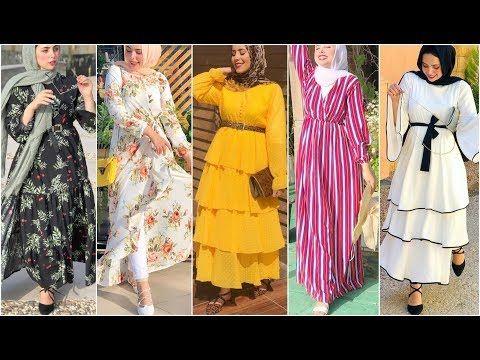 جديد فساتين ربيع و صيف 2020 ملابس محجبات روعة بألوان مختلفة للعيد 2020 Dresses 2020افكار للتفصيل Youtube Fashion Two Piece Skirt Set Women
