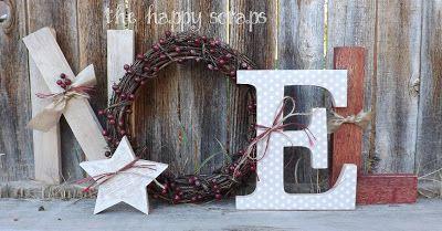 The Happy Scraps: wood
