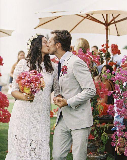 floral wedding   pink flowers