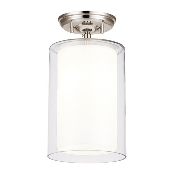 Shop DVI  DVP9012 Essex Small Semi Flush Ceiling Light at Lowe's Canada. Find our selection of semi flush ceiling lights at the lowest price guaranteed with price match + 10% off.