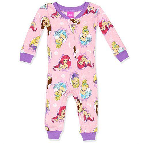 Disney Princess Palace Pets Baby Toddler Girls Blanket Sleeper Pajamas