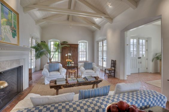 Another view of the same living room.  Architect Elisabeth Wagner's home.