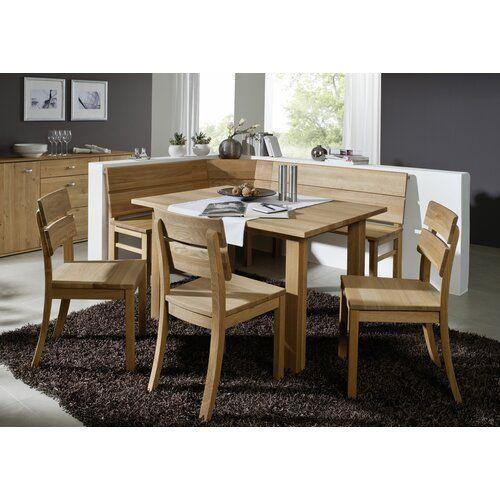 Cudjoe Wood Corner Bench August Grove Size 88cm H X 210cm W X 190cm D Colour Finish Wild Oak Diy Outdoor Furniture Furniture Outdoor Kitchen Bars