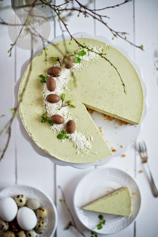 Matcha Coconut Cheesecake #japaneasy #matcha #healthylife