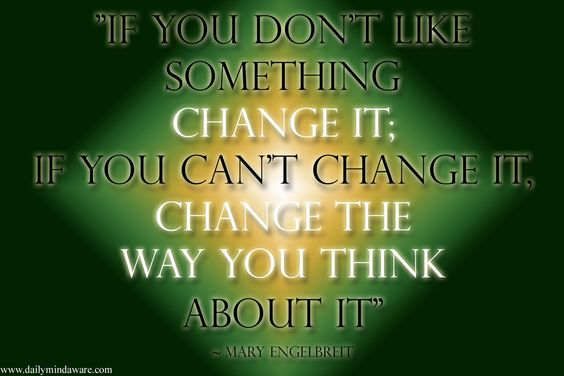 how to change the way you think