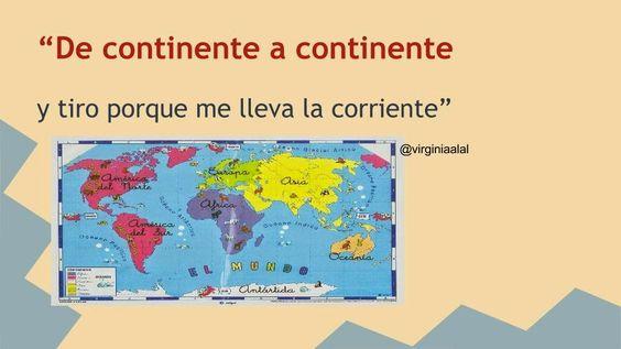 """MI IDENTIDAD Y SEÑAS  EDUCATIVAS: BUCEANDO EN MI PLE. : PROTOTIPO DEL PROYECTO: """" DE CONTINENTE A CONTINEN..."""