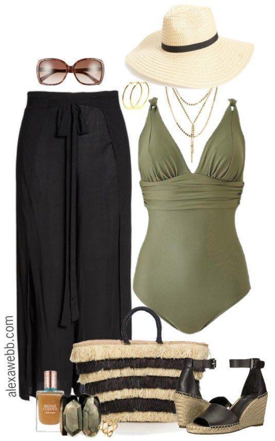 Plus Size Swimwear - Plus Size Swimsuit - Plus Size Fashion for Women - alexawebb.com #alexawebb