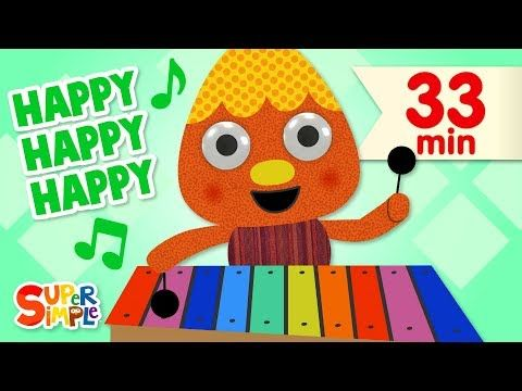 More Great Super Simple Videos In The Super Simple App For Ios Http Apple Co 2nw5hpd Sing Along To This Super Fun Super Simple Songs Kids Songs Happy Song