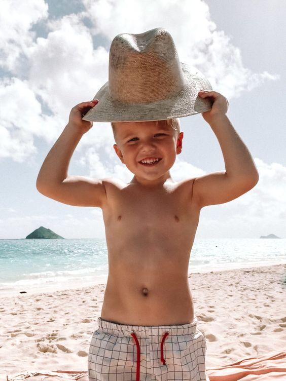 fotos de crianças tumblr na praia interessante