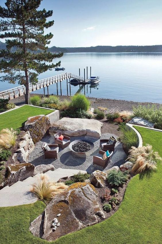 13 Stunning Lakefront Landscaping Ideas Lake Landscaping