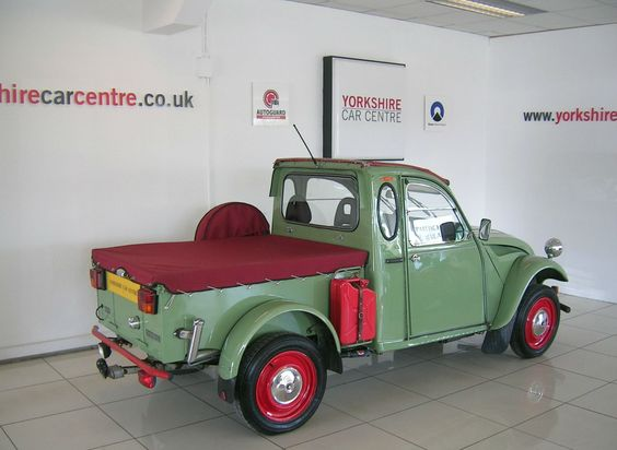 citroen 2 cv6 pick up. Black Bedroom Furniture Sets. Home Design Ideas