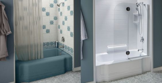 Bath Fitter is the only company in the industry that makes and sells their own products.  We understand the bathroom installation project from both a performance and aesthetic view point.