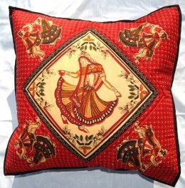 Indian bedspreads and pillows should be chosen carefully. The color, style and design should match with the make of the bed     and the room ambiance. If the bedding is neat, white and tidy, one can choose a coverlet with bright colors and patterns.