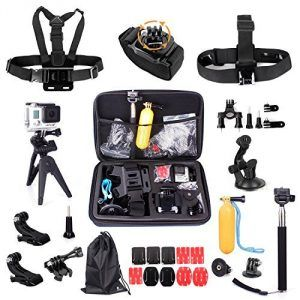 5.The Best Accessories Kit for GoPro Hero 4 Reviews