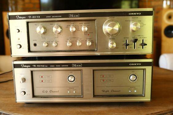 Wzmacniacz Onkyo M 955nii 260 I Pre P 855nii 8263452340 Oficjalne Archiwum Allegro Audio Pre Radio