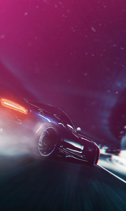 Race Car Motion Blur Art Dodge Viper Wallpaper Dodge Viper Need For Speed Cars Futuristic Cars