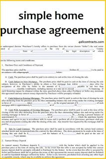 Simple Home Purchase Agreement Pdf All Contracts In 1 Place Purchase Agreement Real Estate Contract Real Estate Forms
