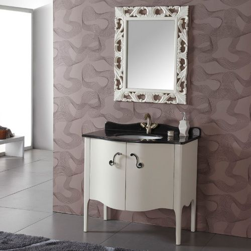 Legion Furniture Courtenay 37 in. Single Bathroom Vanity - Single Sink Bathroom Vanities at Hayneedle
