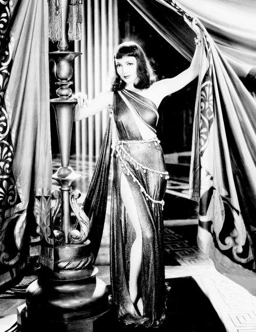 """Claudette Colbert in """"Cleopatra"""""""
