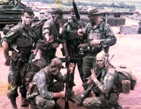 Team 21 from C Company (Ranger) 75th Infantry (Abn) First Field Force Vietnam, 1970, which was an authorized 230 man ABN LRP Company Co E (LRP) 20th Inf (A) when it was formed in Sep 1967 to replace SF B-50 Project Omega in the IICTZ as a Corp Level unit.