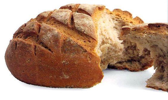 Receta de Pan de campo o pan de pueblo