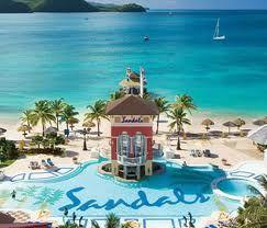 Sandals Grande in St. Lucia, West Indies