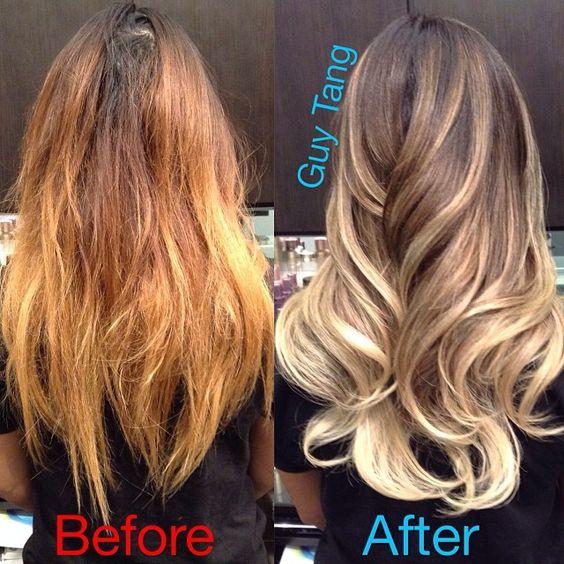 From ratchet brassy orange hair to signature sensational ...