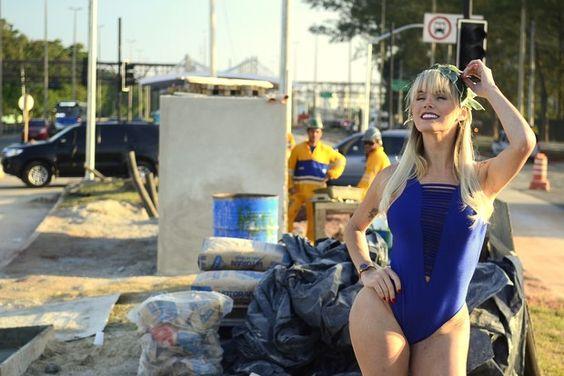 Thalita Zampirolli posa na Transolímpica (Foto: Roberto Teixeira / EGO)