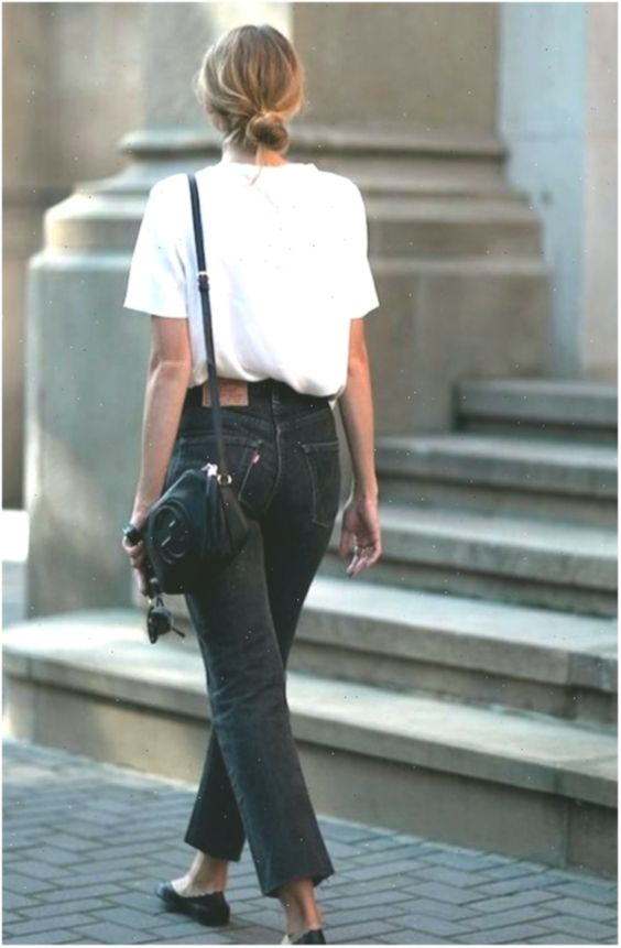 17 Simple Everyday Denim Outfits You Can Copy Now Copy Denim Everyday Outf Beste Jeans Streetstyles Kleiderschrank Gebraucht