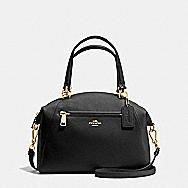 COACH Designer Handbags | Prairie Satchel In Pebble Leather