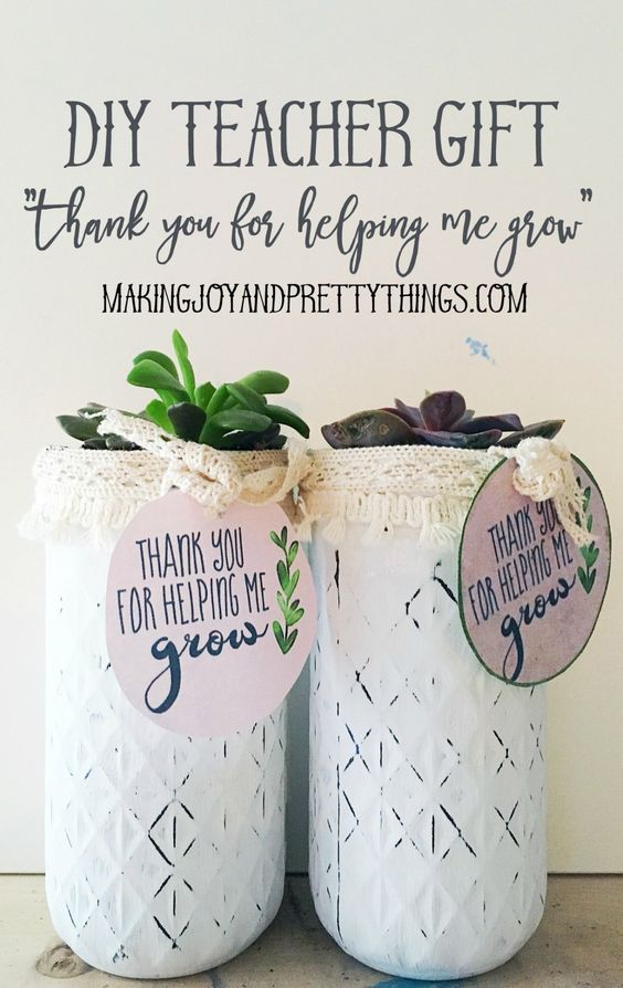 Teacher appreciation gifts appreciation gifts and teacher for Thank you crafts for teachers