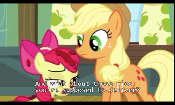 """S4E17 """"Somepony To watch Over Me"""""""