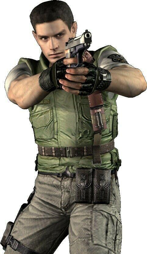 Resident Evil 1 Chris Redfield Cosplay Costume Flak Jacket