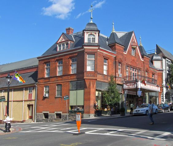 Tarrytown Music Hall in Terrytown, NY (where I'm playing!)