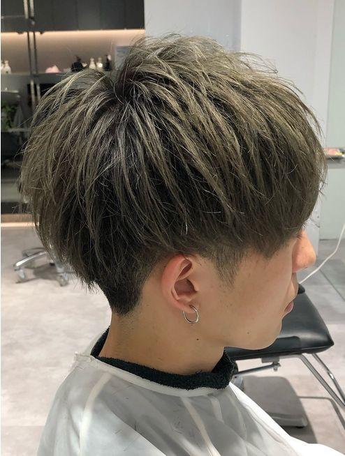 美シルエット刈り上げマッシュ L067182233 ザ サードヘアー The 3rd Hair のヘアカタログ ホットペッパービューティー 髪色 メンズ 髪型 高校生 髪型