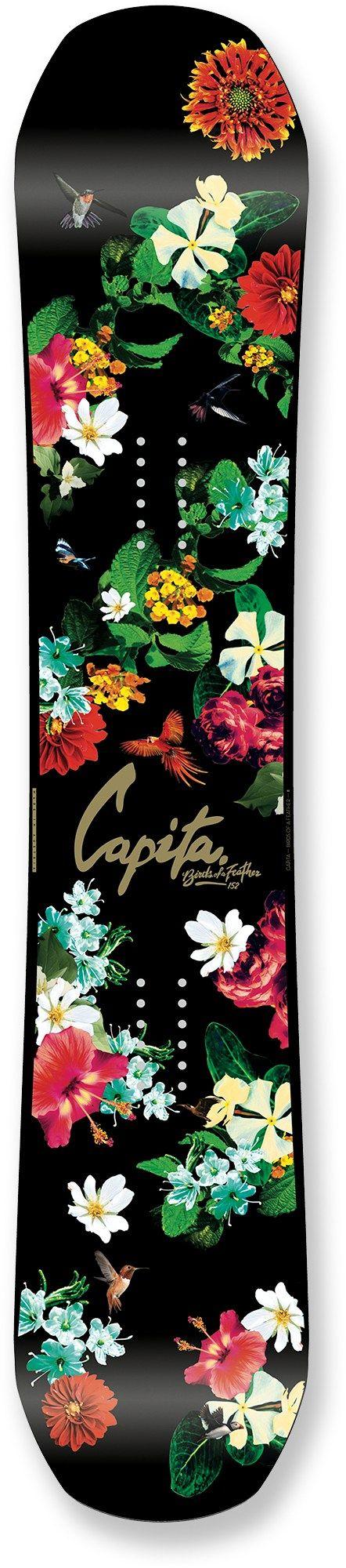 $250.00 | Capita Birds of a Feather Snowboard - Women's - omgggggg
