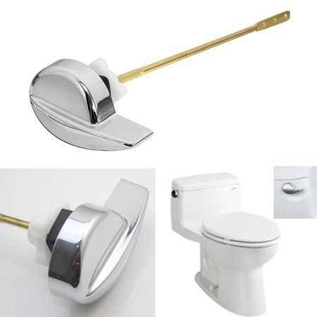Home Improvement Chrome Finish Kohler Toilet Flush Toilet