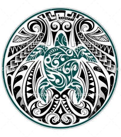 SBink Tribal Sea Turtle https://tattoosk.com/polynesian ...