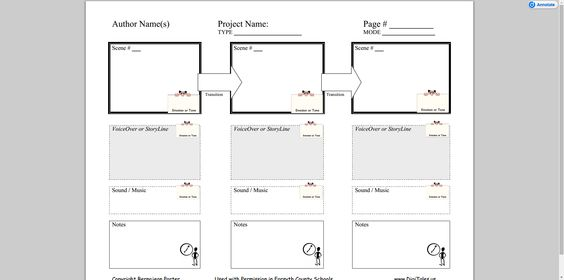 Popplet Apps_jlacruzs Pinterest Graphic organizers - video storyboard template