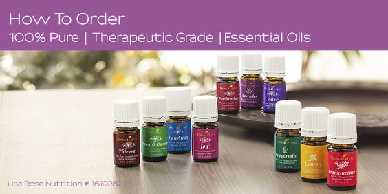 Young Living: started kit and sample uses. 24% discount on all products after starter kit...