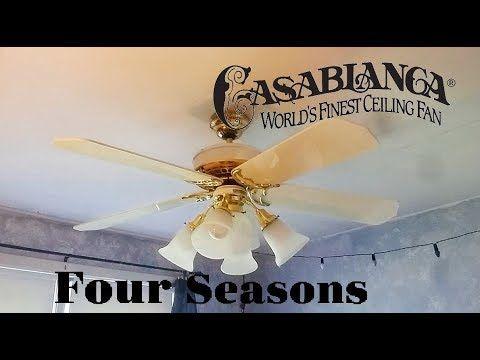Fans At The Habitat Restore 12 1 2017 Youtube Ceiling Fan Fan Four Seasons
