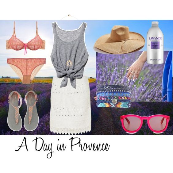 """""""A Day in Provence"""" by etvoila-22 on Polyvore"""