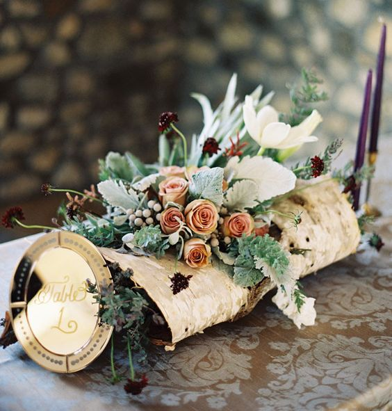 Juneberry Lane Married In Malibu Wine Whimsy A: Enchanted Garden Wedding, Flower Centerpieces And