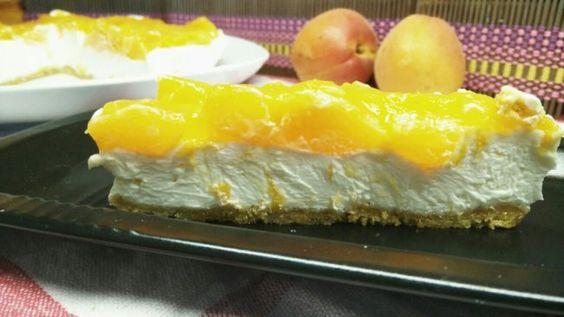 No bake cheesecake recipe with apricot | SunCakeMom